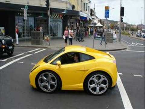 Exotic car spotting in Sydney - Mini Supercars III Music Videos
