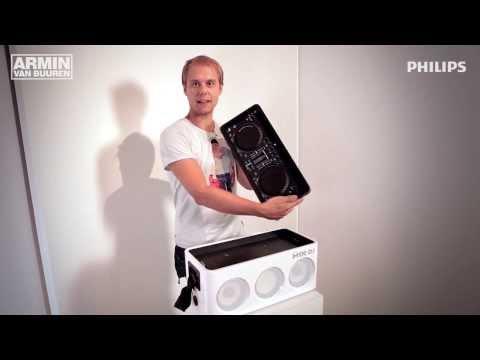 Armin van Buuren Philips M1X-DJ (Product Demo)