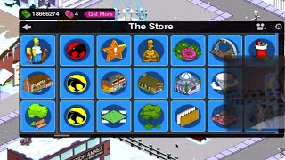 TSTO The Simpsons Tapped Out 2015