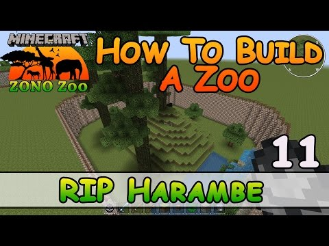 Zoo In Minecraft :: RIP Harambe :: How To Build :: E11 :: Z One N Only