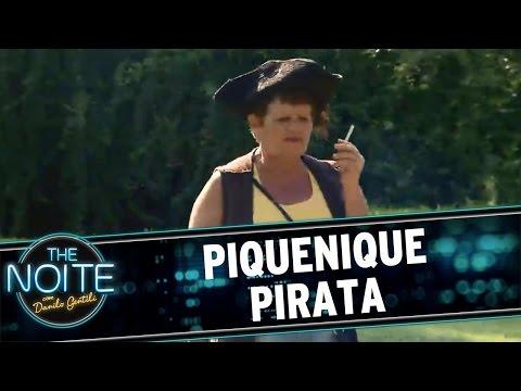 The Noite (26/04/16) Leo e Murilo vão a Piquenique Pirata