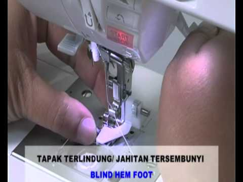 Singer Sewing Machine 9960 Demo Video part2