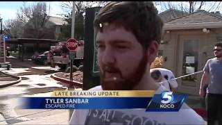 Northwest Oklahoma City condos destroyed in fire