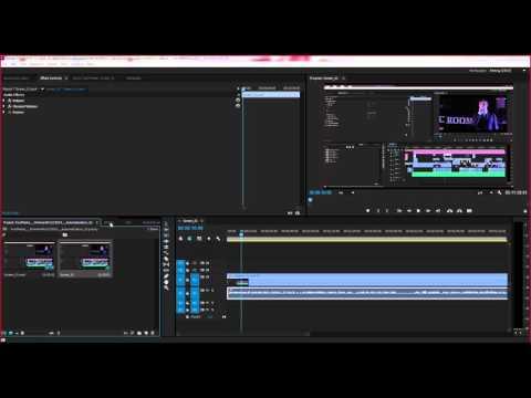 Как сделать звук в adobe premiere pro cc 755