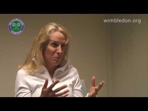 Tracy Austin at Wimbledon Video