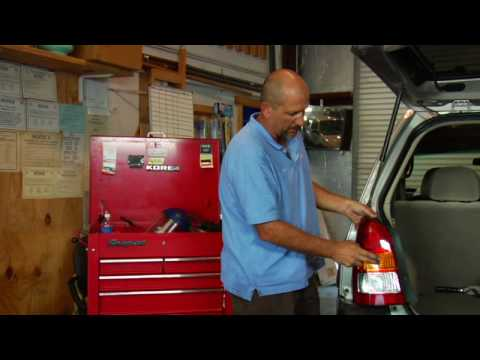 Automotive Troubleshooting  : How to Replace a Tail. Brake or Reverse Light