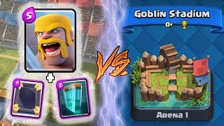 Clash Royale | BARBARIANS + CLONE TROLLING ARENA 1! | *FUNNY MOMENTS* (Drop Trolling #65)