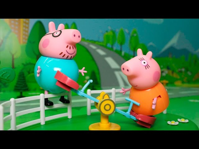 Свинка пеппа про игрушки все серии подряд