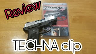Techna Clip Review - Ruger LC9s Stainless Slide