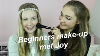 Beginners make-up voor Joy | Sterre van der Gouw