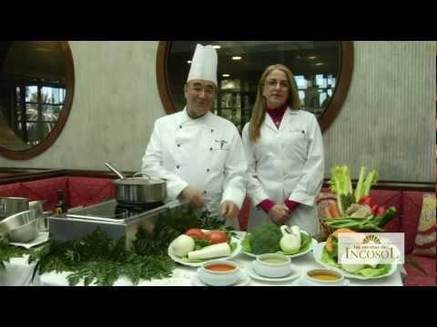 Las Recetas de Incosol - Cremas de Verduras bajas en calorías