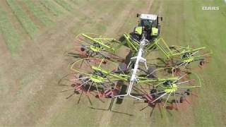 CLAAS LINER four-rotor swathers. More than 20 years.