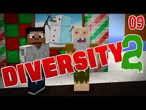 Minecraft Adventure Map: Diversity 2! Ep 09 - reupload!!! video