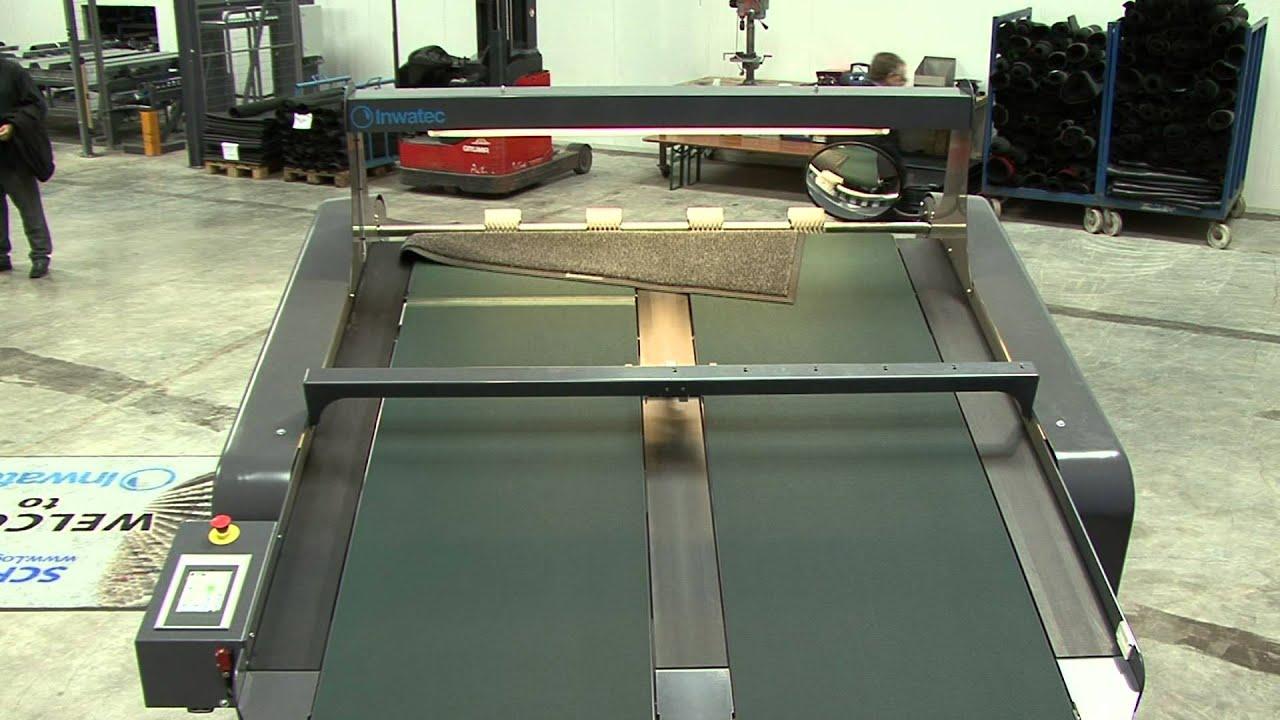 mat roller machine