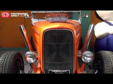 London Motor Museum Tour - Part 05: Hotrods & American Cars