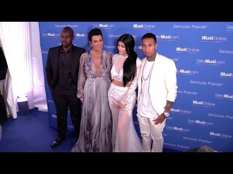 Kylie Jenner and Kris Jenner present their boyfriends, Tyga and Corey to the world !