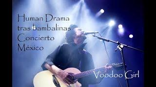 Human Drama tras bambalinas Concierto  Auditorio BlackBerry, México