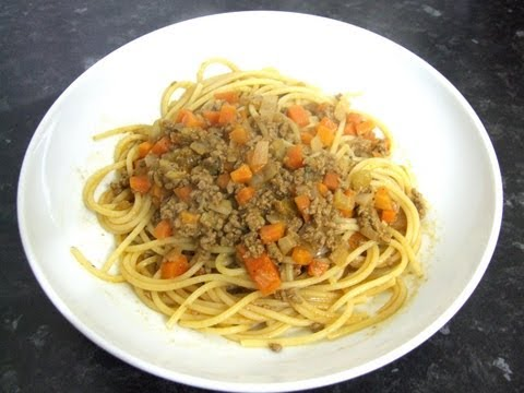 Find the recipe for Homemade Pappardelle with Bolognese Sauce and ...