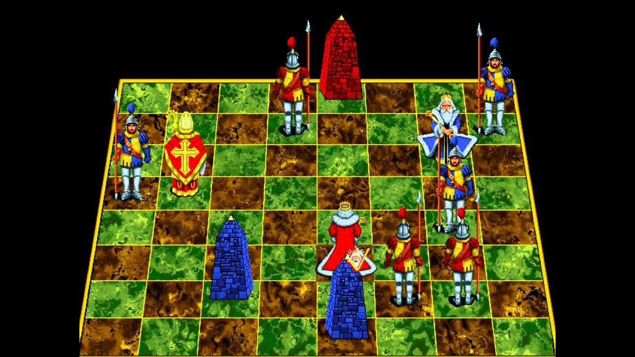 Interplay battle chess enhanced 1991 youtube for Battle chess