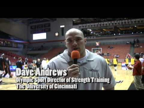 ASAP at University of Cincinnati Basketball vs West Virginia.... Dave Andrews Strength Coach Video