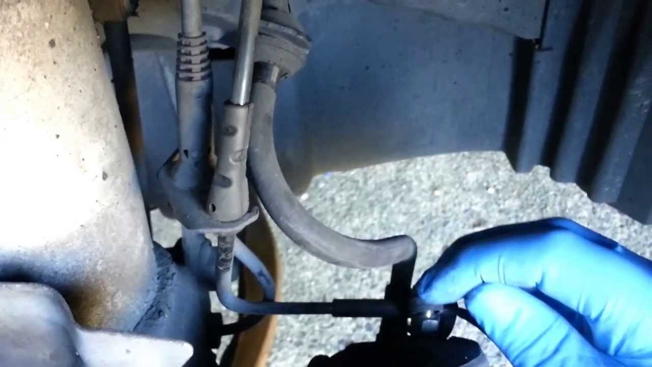 Bmw Brake Pad Wear Sensor Replacement Reset Youtube