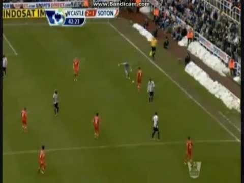 Papiss Cissé Goal vs Southampton 24/2/13