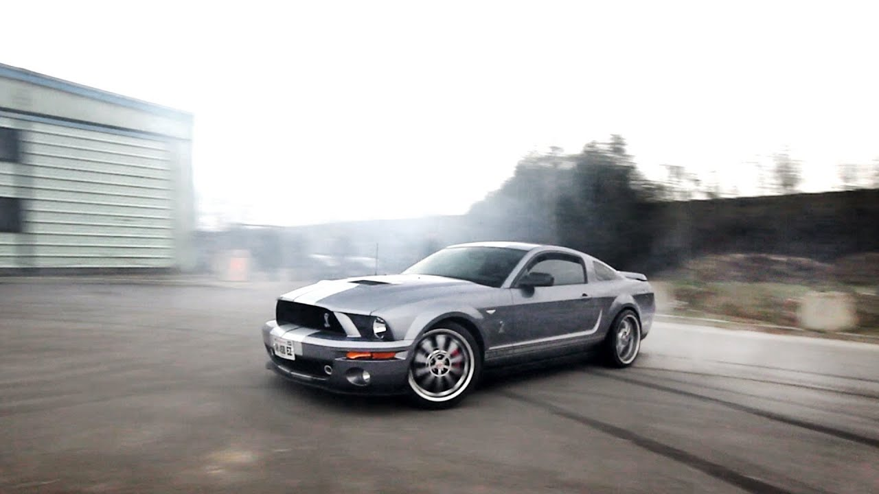 Mustang Gt 500 Massive Burnout Drift And Insane Noise