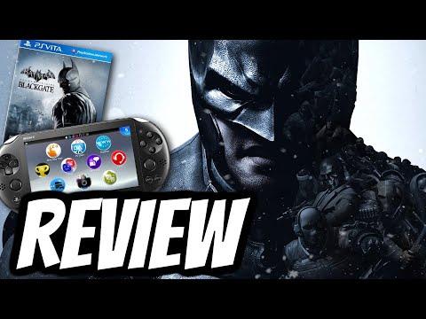 Batman: Arkham Origins Blackgate Playstation Vita REVIEW (PS VITA) GAMEPLAY 2013