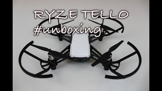 RYZE Tello - Unboxing a přestavení dronu TELLO