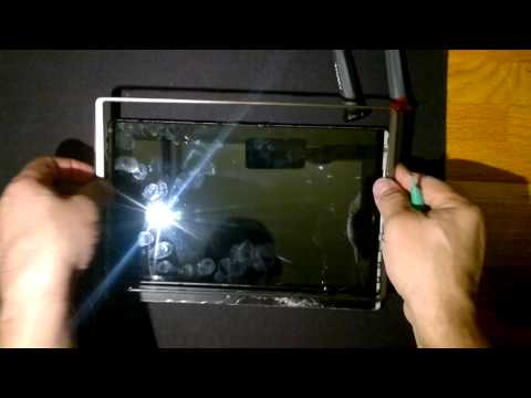 ASUS eee pad Transformer Disassembly part 1