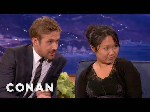 Ryan Gosling Drafts An Interview Buddy From The Audience - CONAN on TB...