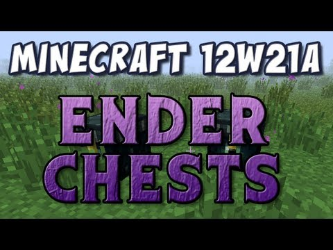 Minecraft - Pyramids, Ender Chests and Trading (Snapshot 12w21a)