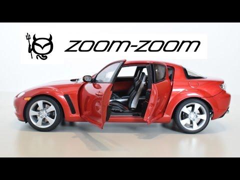 Mazda RX-8 zoom-zoom Autoart