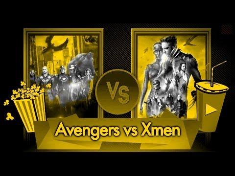 Confrontación.-  Avengers vs Xmen