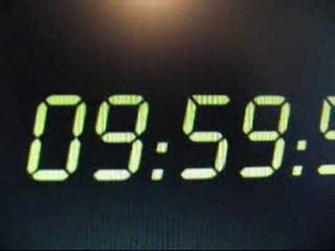 24 Countdown Clock Video