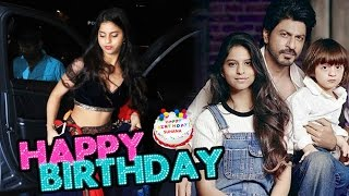 Shahrukh's Daughter Suhana Khan ALL PUBLIC Appearances - Birthday Special