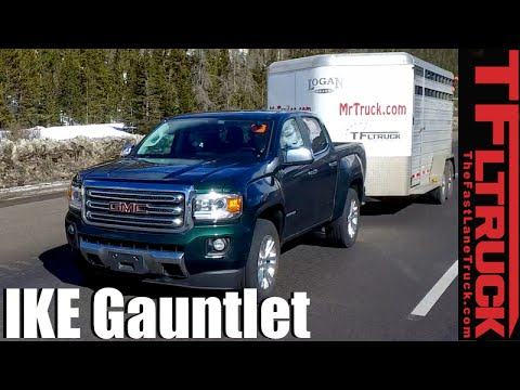 2016 GMC Canyon Duramax Diesel takes on the Extreme Ike Gauntlet Towing Review
