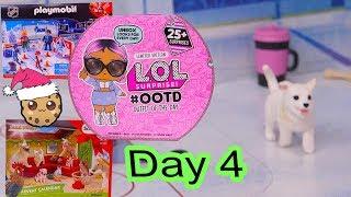 Day 4 ! LOL Surprise - Playmobil - Schleich Animals Christmas Advent Calendar - Cookie Swirl C