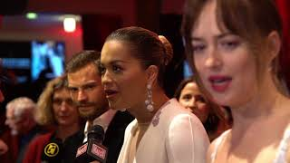 Download Lagu Fifty Shades Freed Paris World Premiere - B Roll Tvline (official video) Gratis STAFABAND