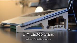 DIY CNC'ed Laptop Stand for $5 - Shapeoko Project #57