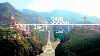 Construction of World's Highest Railway Bridge!! Chenab River Bridge (Kashmir)! AFCONS' Documentary!