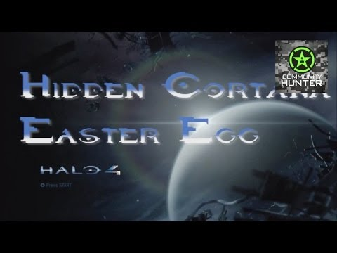 Halo 4 - Hidden Cortana Easter Egg