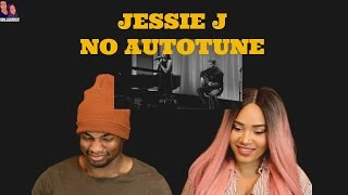 Download Lagu Jessie J | REAL VOICE (WITHOUT AUTO-TUNE) REACTION Gratis STAFABAND