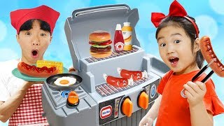 Boram Cooking with BBQ Grill Toy