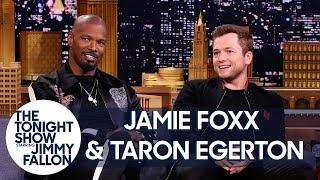 Jamie Foxx & Taron Egerton Talk About Robin Hood