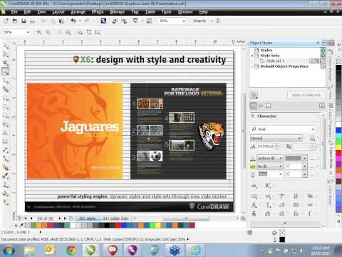 CorelDRAW Graphics Suite X6 Tour: Introducing our most powerful version yet!