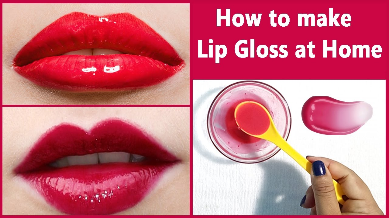 How to Make Your Own Lip Gloss Without Beeswax