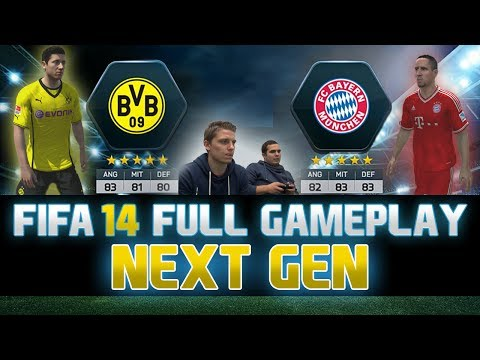 Fifa 14 | FULL Next Gen Gameplay | Borussia Dortmund vs. Bayern München | by PatrickHDxGaming