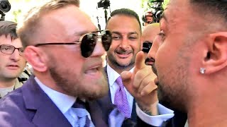 FULL VIDEO! PAULIE MALIGNAGGI CONFRONTS CONOR MCGREGOR! GETS INTO HEATED SCUFFLE!