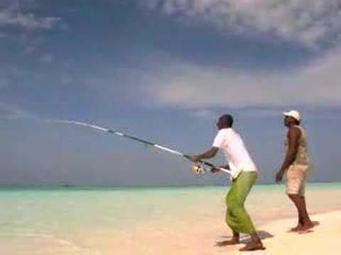 beach fishing Heaven maldives